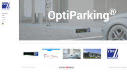 Sites internet - Optiparking - Côté Gauche