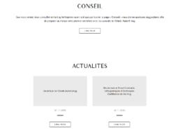 Site internet - Etude Aubert-Hug - Côté Gauche Christophe Golay
