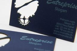 Graphisme - cartes de visite - Côté Gauche Christophe Golay