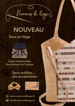 Affichettes - Nuances de liège - Côté Gauche Christophe Golay